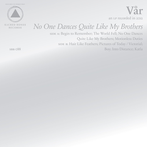 No One Dances Quite Like My Brothers (VINYL)