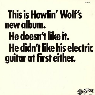 This Is Howlin' Wolf's New Album (VINYL)