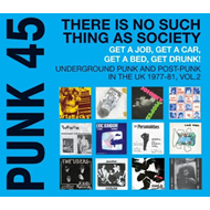 Punk 45: There Is No Such Thing As A Society - Get A Job, Get A Car, Get A Bed, Get Drunk! - Underground Punk And Post-Punk In The UK 1977-1981 Vol. 2 (VINYL - 2LP)