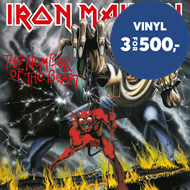 Produktbilde for The Number Of The Beast (VINYL - 180 gram)