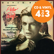 Produktbilde for Peter & The Wolf - Narrated By David Bowie (VINYL - 180 gram)