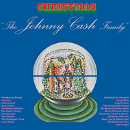The Johnny Cash Family Christmas - Limited Edition (VINYL - 180 gram - Rød)