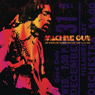 Machine Gun: The Fillmore East First Show 12/31/1969 (VINYL - 2LP)