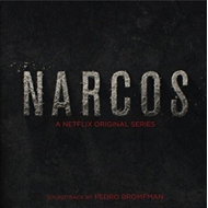 Narcos - A Netflix Original Series (VINYL - 2LP - Black/Red)
