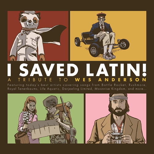 I Saved Latin - A Tribute To Wes Anderseon (VINYL - 2LP)