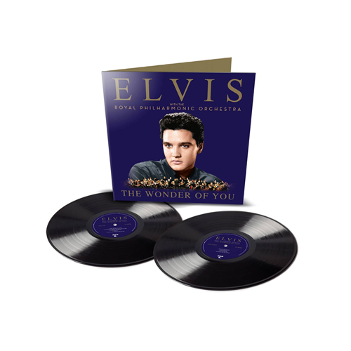 The Wonder Of You: Elvis With The Royal Philharmonic Orchestra - Deluxe Edition (VINYL - 2LP - 150 gram + CD)