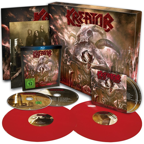 Gods Of Violence - Super Deluxe Edition (VINYL - 2LP - Red + 2CD + DVD)