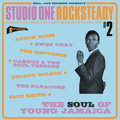 Studio One Rocksteady 2: The Soul Of Young Jamaica - Rocksteady, Soul And Early Reggae At Studio One (VINYL - 2LP)