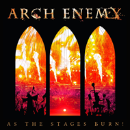 Produktbilde for As The Stages Burn! (VINYL - 2LP + DVD)