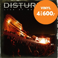 Produktbilde for Disturbed - Live At Red Rocks (VINYL - 2LP)