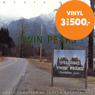 Produktbilde for Music From Twin Peaks (VINYL)