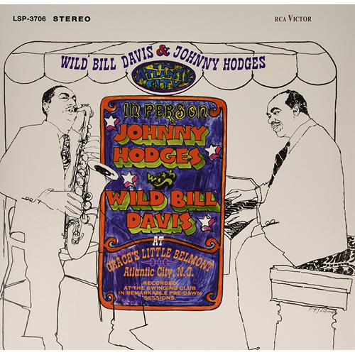 Wild Bill Davis And Johnny Hodges In Atlantic City (Speakers Corner) (VINYL - 180 gram)