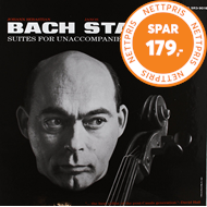 Produktbilde for Bach: 6 Solo Cello Suites (Speakers Corner) (VINYL - 3LP - 180 gram)