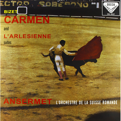 Bizet: Carmen And L'arlésienne Suites (Speakers Corner) (VINYL - 180 gram)