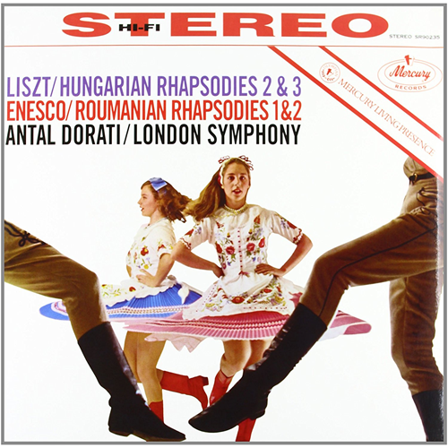 Enesco: Roumanian Rhapsodies / Liszt: Hungarian Rhapsodies (Speakers Corner) (VINYL - 180 gram)