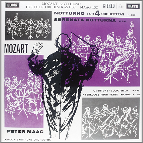 Mozart: Notturno For Four Orchestras (Speakers Corner) (VINYL - 180 gram)