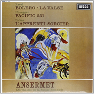 Ravel: Boléro, La Valse / Honegger: Pacific 231 (Speakers Corner) (VINYL - 180 gram)