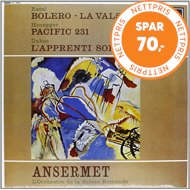 Produktbilde for Ravel: Boléro, La Valse / Honegger: Pacific 231 (Speakers Corner) (VINYL - 180 gram)