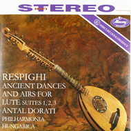 Respighi: Ancient Airs And Dances For Lute And Orchestra (Speakers Corner) (VINYL - 180 gram)