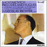 Produktbilde for Shostakovich: 6 Preludes & Fugues From Op.87 (Speakers Corner) (VINYL - 180 gram)