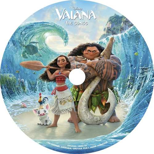 Vaiana - The Songs (VINYL - Picture Disc)