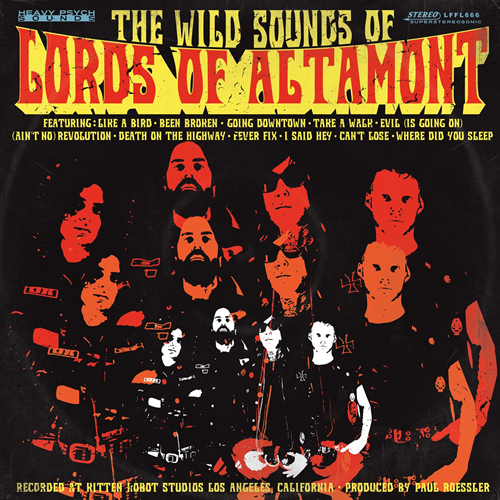The Wild Sounds Of The Lords Of Altamont (VINYL - Colored)