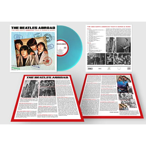 The Beatles Abroad - The 1965 North American Tour In Words & Music (VINYL)