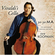 Produktbilde for Yo-Yo Ma - Vivaldi's Cello (VINYL - 2LP - 180 gram)