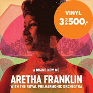Produktbilde for Brand New Me: Aretha Franklin With The Royal Philharmonic Orchestra (VINYL - 2LP)