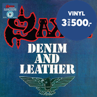 Produktbilde for Denim And Leather - Limited Edition (VINYL)