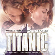 Produktbilde for Titanic - Music From The Motion Picture: Limited Edition (USA-import) (VINYL - 2LP - 180 gram - Blue)