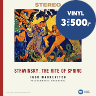 Produktbilde for Stravinsky - The Rite Of Spring (VINYL)