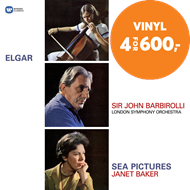 Produktbilde for Elgar: Cello Concerto, Sea Pictures (VINYL)