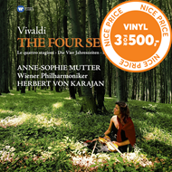 Produktbilde for Anne-Sophie Mutter - Vivaldi: The Four Seasons (VINYL)