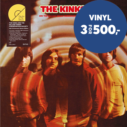 The Kinks Are The Village Green Preservation Society - 50th Anniversary Stereo Edition (VINYL - 180 gram)