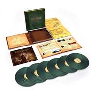 Produktbilde for The Lord Of The Rings: The Return Of The King - The Complete Recordings: Limited Edition (UK-import) (VINYL - 6LP - 180 gram - Green)