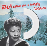 Ella Wishes You A Swinging Christmas - Limited Edition (VINYL - White)