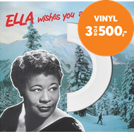 Produktbilde for Ella Wishes You A Swinging Christmas - Limited Edition (VINYL - White)