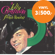 Produktbilde for A Jolly Christmas From Frank Sinatra - Limited Edition (VINYL - Green)