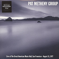 Live At The Great American Music Hall, San Francisco - August 31, 1977 (VINYL - 180 gram)