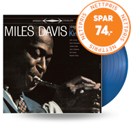 Produktbilde for Kind Of Blue - Limited Edition (VINYL - Blue)