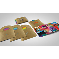 Produktbilde for Live In Buenos Aires / Live In Sao Paulo / A Head Full Of Dreams (VINYL - 3LP - Gold + 2DVD)