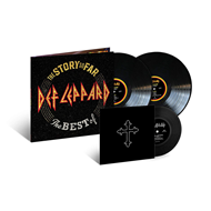 "Produktbilde for The Story So Far - The Best Of Def Leppard (VINYL - 2LP + 7"")"