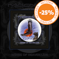 Produktbilde for Wings Of Heaven Live - Limited Edition (VINYL - 3LP)