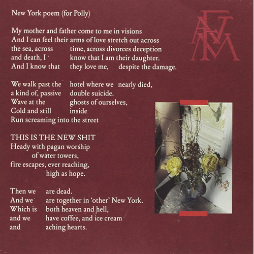 "Sky Full Of Song/New York Poem (For Polly) (VINYL - 7"" - Clear)"