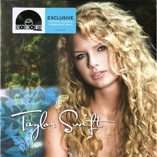Taylor Swift (Rsd) (VINYL - 2LP - Clear & Turquoise)