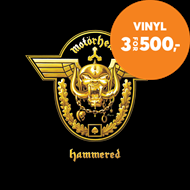 Produktbilde for Hammered (VINYL)