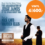 Produktbilde for The Assassination Of Jesse James By The Coward Robert Ford (VINYL - Colored)