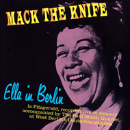 Produktbilde for Ella In Berlin: Mack The Knife (VINYL - 180 gram - Colored)