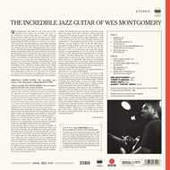Produktbilde for The Incredible Jazz Guitar Of Wes Montgomery (VINYL - 180 gram - Colored)